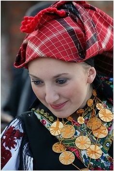 ˚Folk costume characteristic for the village Stara Kapela, Eastern Slavonia, Croatia (these costumes are worn only during traditional ceremonies)