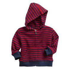 Jumping Beans® Stripe Thermal Hoodie - Baby