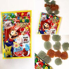 #SuperMarioGumi  Una goma deliciosa para morder en sabores de Ramune y Cola. Si tiene suerte podrá encontrar gomas con forma de Mario estrellas monedas signo de interrogación hongos!  http://ift.tt/1VPNF0E  A delightfully chewy gummy in Ramune and cola flavors. If youre lucky you can find gummies in the shape of Mario stars coins exclamation marks and even mushrooms!  #supermario #nintendo #boxfromjapan #BFJcajafebrero #BFJfebruarybox #golosinasjapon