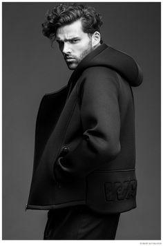 Frederik Muka Models Alexander Wang for H&M
