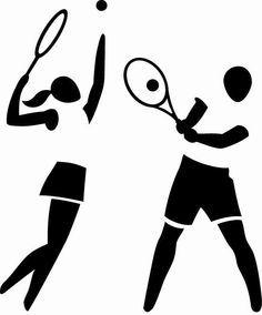 Tenis y croquet on Pinterest | Tennis, Vintage Tennis and Tennis ...