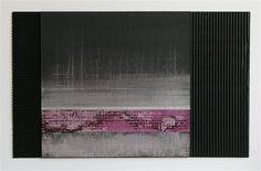 RAMÓN URBÁN, Landscape V,  Técnica mixta sobre cartón, 33x54. 2012.