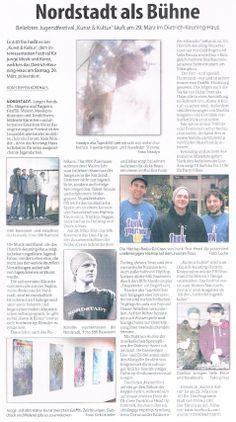 "article by Steffen Korthals about the ""Kunst & Kultur""-festival at DKH Dortmund, 29.03.2014"