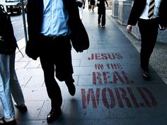 jesus in the real world | by Fanell