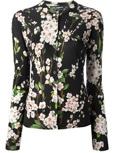 DOLCE and GABBANA Floral Cardigan