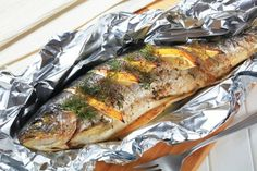 10 Delicious Trout Recipes – Page 6 – Top Recipes Baked Trout, Oven Baked Fish, Baked Cod, Baked Salmon, Grilled Cod, Grilled Fish, Trout Recipes, Seafood Recipes, Salmon Recipes