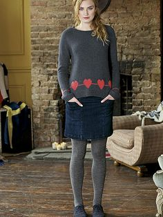 White Stuff Country Heart Jumper. Perfect Christmas outfit! #myhappychristmas @White Stuff UK