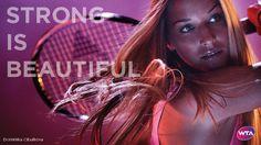 Strong Is Beautiful - Dominika Cibulkova