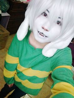 Asriel - Undertale Cosplay by kahchan13