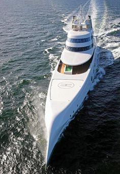loveisspeed.......: Russian billionaire Andrey Melnichenko's 394 foot yacht, designed by Philippe Starck, is making waves in the bays of Baja California