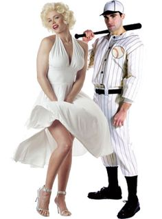 Joe DiMaggio and Marilyn Monroe Couples Costume