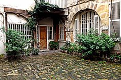 """COUR DE ROHAN  For the Paris lovers and the lovers in Paris.   Called the """"Best Hidden Courtyard"""" by Frommer's is a cluster of 3 cloistered, cobblestoned, medieval courtyards collectively known as the Cour du Rohan found in the 6th district,.direct from Hotel Relais Bosquet by bus 63 or 87   Accessed via rue du Jardinet (street of the small garden)"""