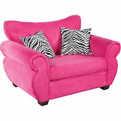 Sofa Bed Design For Teens : Teen Bedroom Seating  Heather Pink Mini Sofa - Seating... Would ...