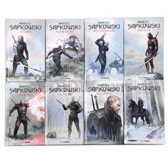 Wiedźmin - cała seria  Sapkowski A.  4996 głosów The Witcher 3, Wild Hunt, The Originals, Books, Anime, Movies, Movie Posters, Fictional Characters, Image