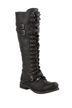ZIGI Trait Tall Moto Boot on HauteLook  I LOVE these boots. Totally would work in a catwoman cosplay :)