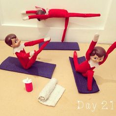 Yoga Class 31 Elf On The Shelf Ideas Guaranteed To Win Christmas Christmas Elf, All Things Christmas, Christmas Crafts, Christmas Carol, Christmas Thoughts, Christmas Ideas, Christmas Decorations, Christmas Activities, Christmas Traditions