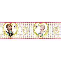 Adeline x Matte Peel & Stick Wallpaper Border Frozen Buy Wallpaper Online, Horse Party, Elsa, Frozen, Peel And Stick Wallpaper, Walt Disney, Dolls, Bags, Printables