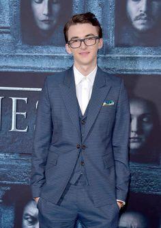 Isaac Hempstead Wright (Bran) didn't watch the fifth season.