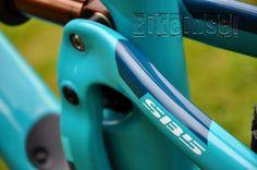 "Yeti sb5 TURQ carbon ""switchsilver""  - custom bike by www.bikeinsel.com -  #yeti #sb5c #bikeinsel"