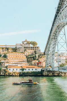 Top 10 Instagrammable Places in Oporto - The Traveler Sisters Places In Portugal, Portugal Travel, Hidden Places, Places To Go, Douro, Over The River, How To Take Photos, The Good Place, Scenery