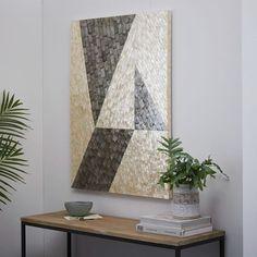 Capiz Wall Art - Angle | west elm   32 x 42h    $200