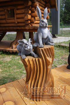 деревянная скульптура - Поиск в Google