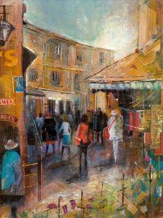 Christine Taherian, 1960 ~ Impressionist painter | Tutt'Art@ | Pittura * Scultura * Poesia * Musica |
