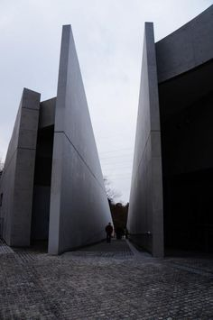 Chikatsu Asuka Historical Museum. 1994. Osaka, Japan. Tadao Ando The prisoners go in, but they never get out.
