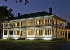 Mississippi Antebellum Plantation Homes Old Southern Homes, Southern Mansions, Southern Plantations, Southern Plantation Style, Plantation Style Homes, Plantation Houses, Southern Style, Greek Revival Home, Southern Architecture