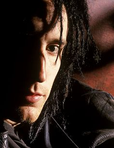 Reznor Stubble and Dreads Trent Reznor, Great Bands, Cool Bands, Dark Tumblr, Skinny Puppy, Nine Inch Nails, Young Lad, Beautiful Voice, My Heart Is Breaking