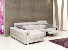 El sofá Dubai de Pedro Ortiz, está disponible en Rinconera, chaiselonge, con mecanismo relax o fijo.