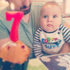 7 MESES!! este domingo que también fue el día del padre Enzo cumplió los 7mese no quería quitarle el protagonismo a su padre y hoy me acordé de subir la foto de su cumple mes... Que cabeza la mía.... #7months #baby #love #babyboy #cute #lovehim #happy #iloveyou #mybaby #cutie #instababy #mylove #bigboy #adorable #son #myworld #7monthsold #7meses #family #beautiful #handsome #loveofmylife #babiesofinstagram #myson #loveyou #cutebaby #babylove #babies #tbt #myeverything