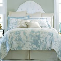 Cindy Crawford Style Coastal Palm Bedding & More - jcpenney