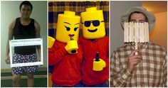 17 Halloween Costumes That Won't Cost You An Arm And A Leg - aka hilarious! Holidays Halloween, Spooky Halloween, Halloween Treats, Happy Halloween, Halloween Decorations, Halloween Party, Halloween Costumes, Lego Costume, Favorite Holiday