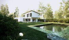 Suburban villas by Juraj Talcik, via Behance