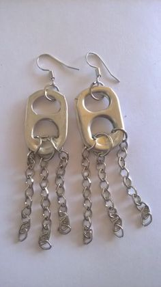 Grunge Accessories, Grunge Jewelry, Funky Jewelry, Ear Jewelry, Cute Jewelry, Jewelry Crafts, Jewelery, Jewelry Accessories, Handmade Jewelry