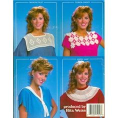 Collars for over our sweaters were popular, too!
