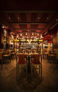 Red O Steak And Seafood Rick Bayless Newport Beach Resort Interior Restaurant