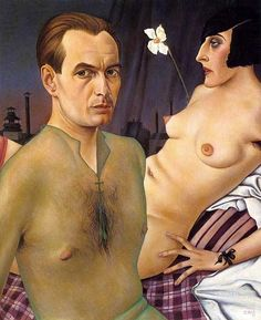 Christian Schad - Self Portrait 1927