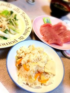 ちと味付け薄かった。リベンジ! - 2件のもぐもぐ - たけのこご飯と玉ねぎサラダ by harumun
