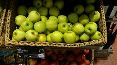 Manzanas granny smith.
