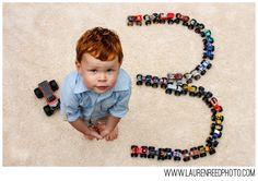 third birthday photo monster truck child children photography