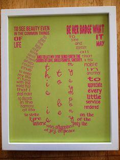 Alpha Chi Omega Print on Etsy  https://www.etsy.com/listing/154474779/framed-alpha-chi-omega-print
