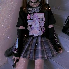 Zodiac Signs Leo, Asian Beauty, Skater Skirt, Punk, Skirts, Bling Bling, Clothes, Outfits, Sparkles