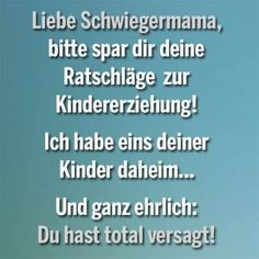 #liebe schwiegermama