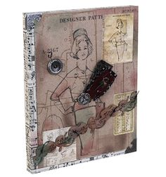 Gorgeous! Mixed media #diy project from @Tim Holtz