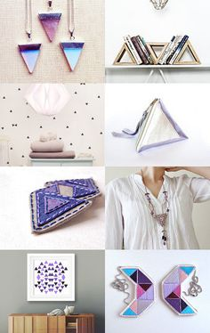 Triangles collection by Gilberto Vavalà on Etsy--Pinned with TreasuryPin.com