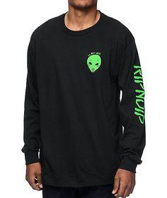 RipNDip We Out Here Black Long Sleeve T-Shirt