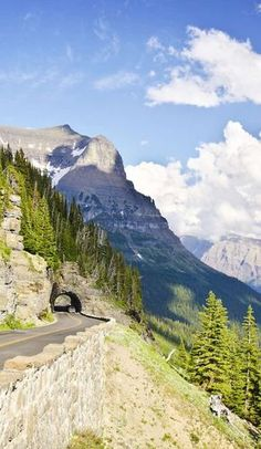 Spanning 53 miles across Glacier National Park in Montana, Going-to-the-Sun Road is one drive every nature-lover, engineering buff, and/or thrill-seeker should m California Camping, Southern California, Glacier National Park Camping, Glacier National Park Montana, Glacier Np, Glacier Montana, Road Trip Across America, Escalante National Monument, Scenic Photography