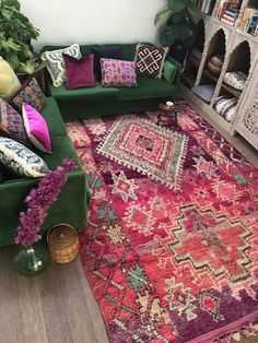 16 fabulous colorful bohemian living room decorating ideas 43 - Home Decor Bohemian Living, Boho Living Room, Living Room Decor, Bedroom Decor, Living Room Colors, Colourful Living Room, Eclectic Decor, Living Room Inspiration, House Colors